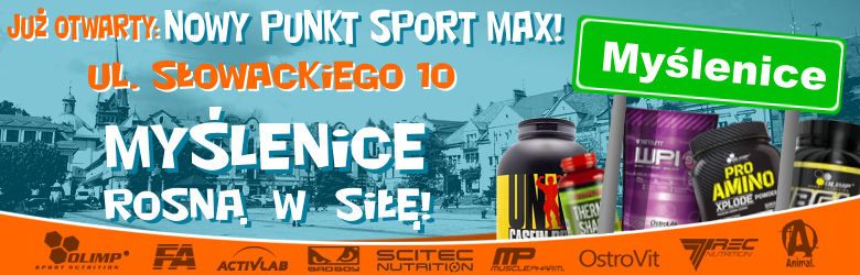 Nowy punkt Sport-Max!