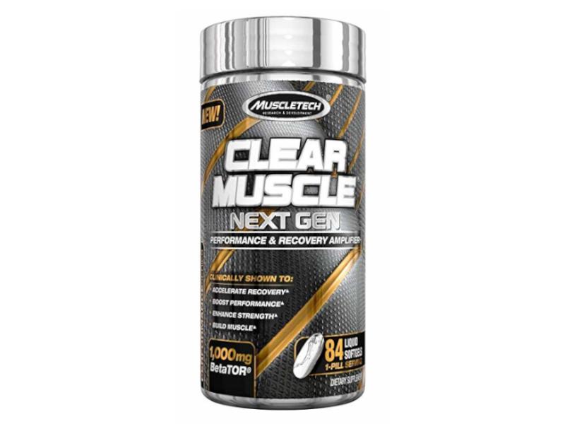 data_MUSCLETECH Clear Muscle Next Gen 84 kaps