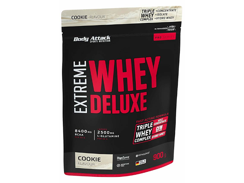 BODY ATTACK Extreme Whey Protein Deluxe 900g