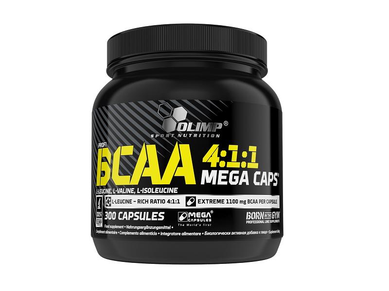 data_OLIMP Profi BCAA 4:1:1 Mega Caps 300 kaps