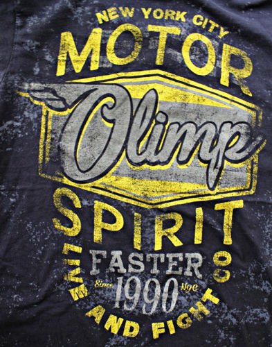 OLIMP LIVE & FIGHT Men s Tee MOTOR SPIRIT