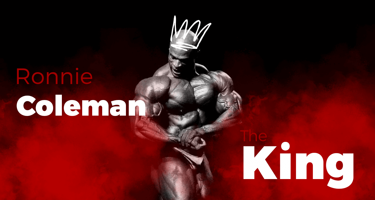 ronnie coleman najwiekszy kulturysta the king 2020 2021