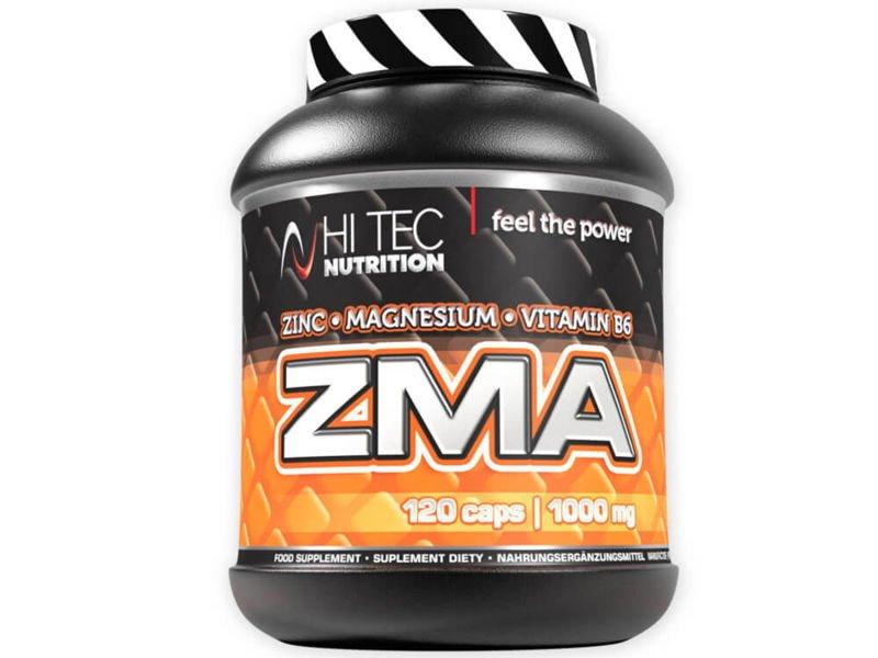 gładki klasyczne dopasowanie najnowszy projekt 29,90 zł - data_HI TEC ZMA 120 caps | Nutrition Store Sport ...