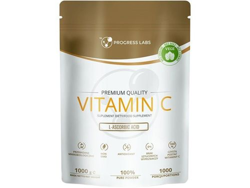 PROGRESS LABS L-ascorbic acid Vitamin C 1000mg 1000g