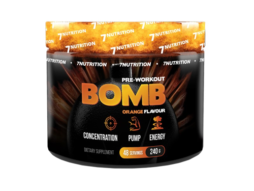 7NUTRITION Bomb Pre-Workout 240 g