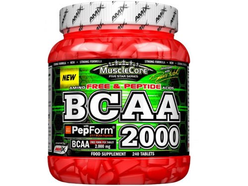 AMIX MuscleCORE BCAA 2000 with PepFORM 240 tabs