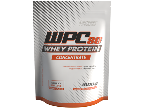 ENERGY PHARM WPC 80 Whey Protein Concentrate 1800 g