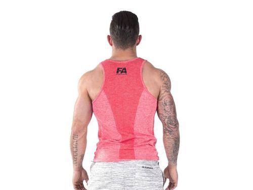 FITNESS AUTHORITY FASM Tanktop 01 Basic RED