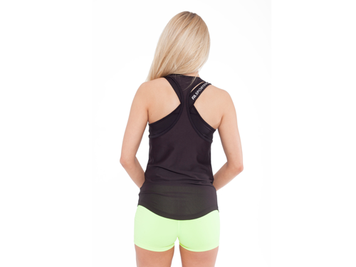 FITNESS AUTHORITY FASW Tank top 02 W Loose BLACK