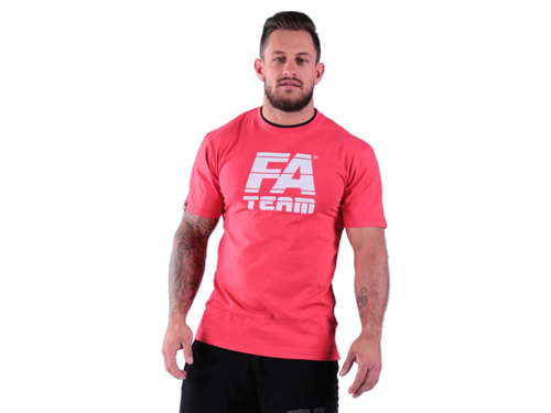FITNESS AUTHORITY T-shirt Double Neck RED