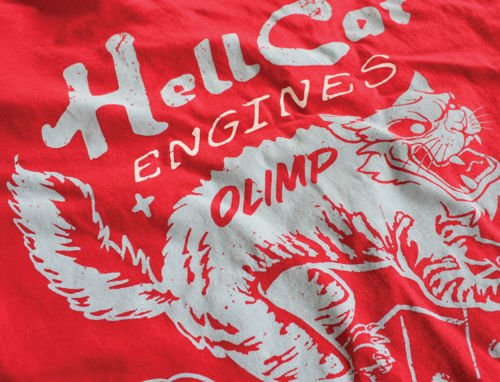 OLIMP LIVE & FIGHT Men s Tee HELL CAT