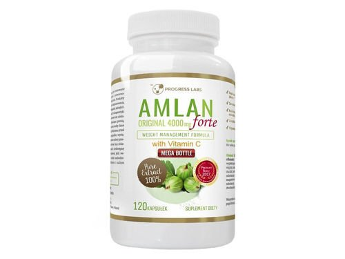 PROGRESS LABS Amlan Original Forte 4000mg 120 caps