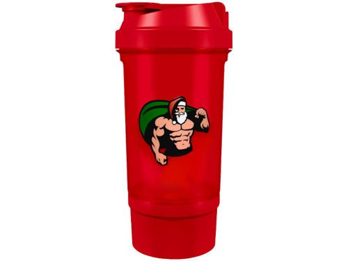 SCITEC Christmas Shaker with Santa Claus 500 ml