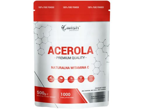 WISH Acerola Natural Vitamin C Powder 500g