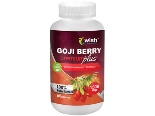 WISH Goji Berry Premium Plus 1500 mg 60 tab