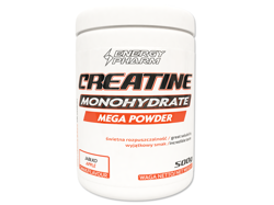 ENERGY PHARM Creatine Monohydrate Mega Powder 500 g puszka