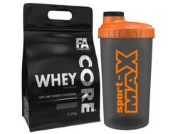 FITNESS AUTHORITY Whey Core 2270 g +shaker