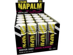FITNESS AUTHORITY Xtreme Napalm  Igniter Shot zestaw 20x 60 ml