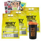 OLIMP WHEY PROTEIN COMPLEX 2100g BIAŁKO + SHAKER + MAG