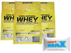 OLIMP Whey Protein Concentrate 3x 700 g + próbka Sport-max