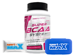 TREC SUPER BCAA 300K +PILLBOX + PRÓBKA