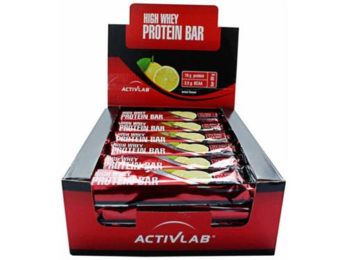 ACTIVLAB High Whey Active Protein Bar 24x80 g