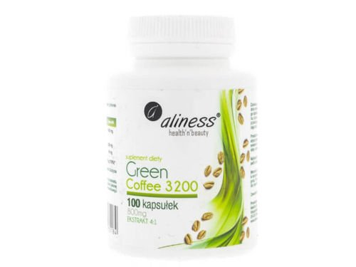 ALINESS CGA Green Coffee 3200 100 kaps
