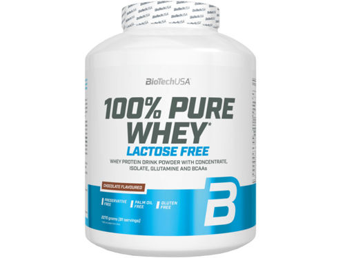 BIOTECH 100% Pure Whey 2270 g LACTOSE FREE