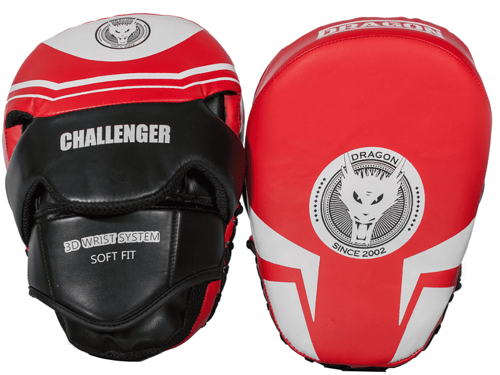 DRAGON SPORTS Łapy treningowe Challenger 304965 RED