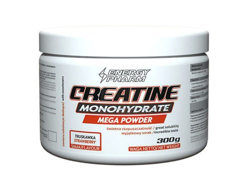 ENERGY PHARM Creatine Monohydrate Mega Powder 300 g puszka
