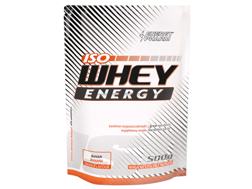 ENERGY PHARM Iso Whey Energy 500 g