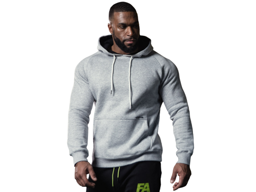 FITNESS AUTHORITY FASM Hoodie Tape Grey