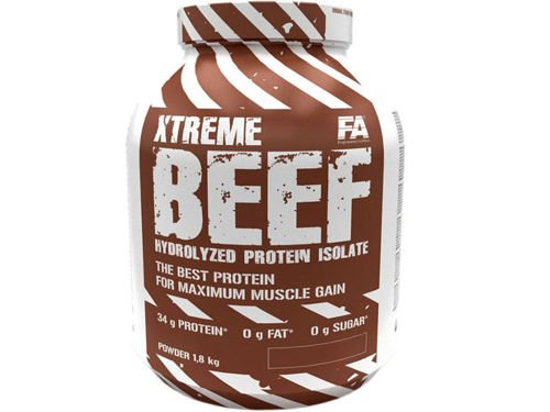 FITNESS AUTHORITY Xtreme Beef Protein 1800 g