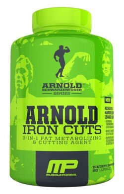 MUSCLE PHARM ARNOLD Iron Cuts 120 kaps