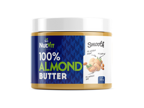 NUTVIT 100% Almond Butter 500 g