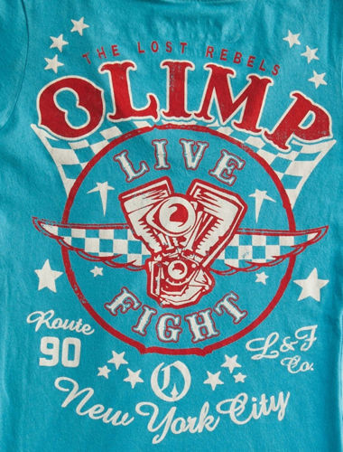 OLIMP LIVE & FIGHT Lady's Tee LOST REBELS