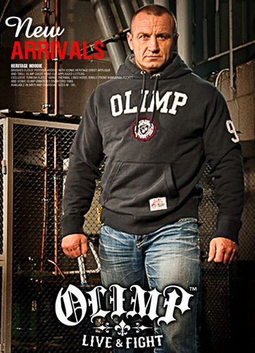OLIMP LIVE & FIGHT Men s Hoodie HERITAGE