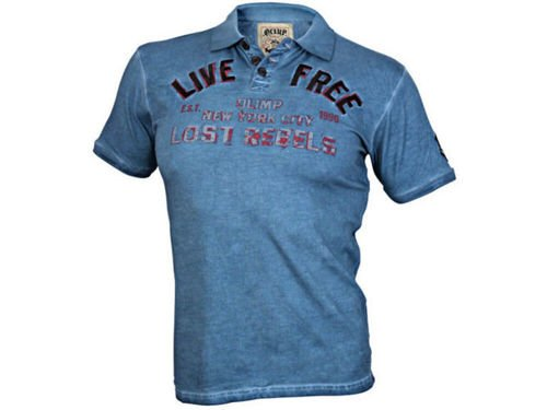 OLIMP LIVE & FIGHT Men s Polo LIVE FREE