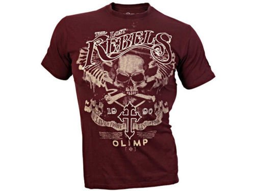 OLIMP LIVE & FIGHT Men s Tee LOST REBELS