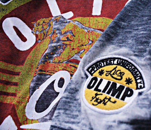 OLIMP LIVE & FIGHT Men s Tee MOTO PANTHER