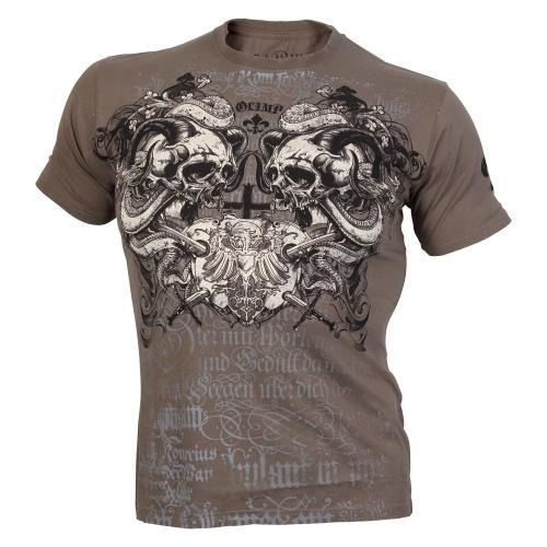 OLIMP LIVE & FIGHT Men s Tee SCREAMING SKULLS