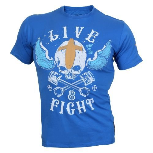 OLIMP LIVE & FIGHT Men s Tee VOODOO MOTORS