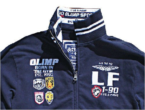 OLIMP LIVE & FIGHT Men s Track Jacket PARAMOUNT