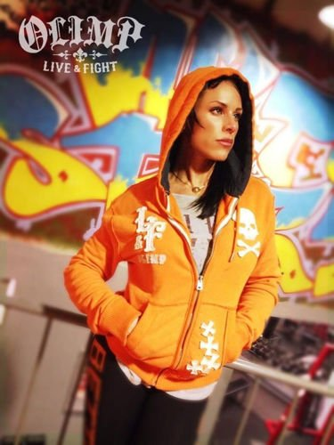 OLIMP LIVE & FIGHT Men's Hoodie CHOPPER