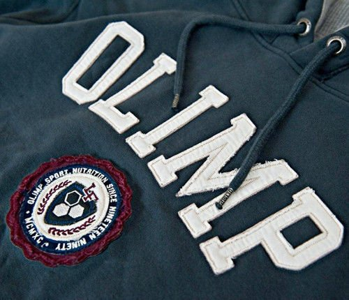 OLIMP LIVE & FIGHT Men's Hoodie HERITAGE