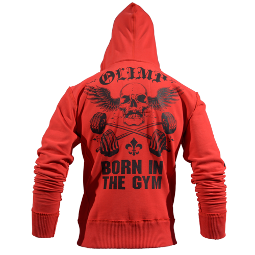 OLIMP LIVE & FIGHT Men's Hoodie STACKED