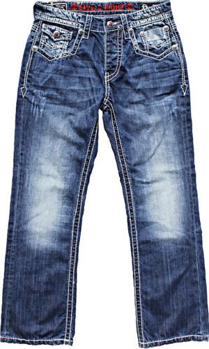 OLIMP LIVE & FIGHT Men's Jeans MIKE
