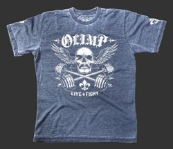 OLIMP LIVE & FIGHT Men's Tee ICON