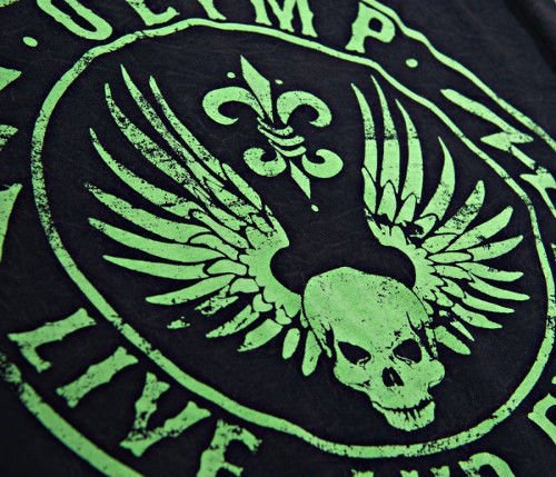 OLIMP LIVE & FIGHT Men's Tee STAMPED
