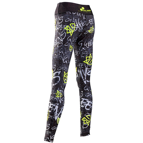 OLIMP LIVE & FIGHT Women's Leggings GRAFFITI